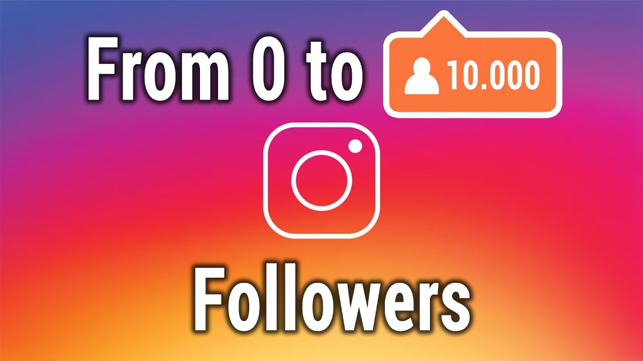 Get 10k Instagram Followers